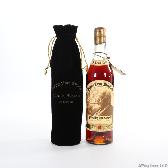 Pappy Van Winkle - 23 Year Old (Family Reserve, 1st Release/Gold wax 1999) 75cl