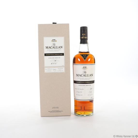 Macallan - 1988 Exceptional Single Cask (#3890-09, 2018)