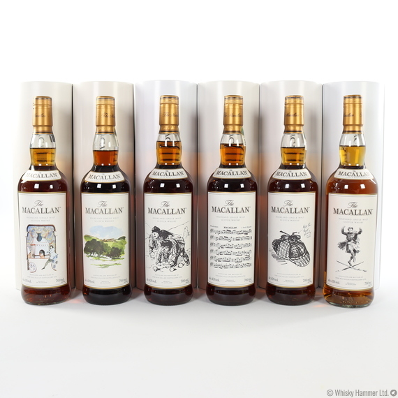 Macallan - The Archival Series - Folio 1-6 (6 x 70cl)