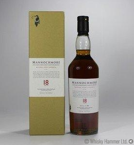 Mannochmore 18 Year Old 1990