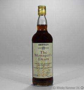 Aberfeldy 19 Year Old - Manager's Dram