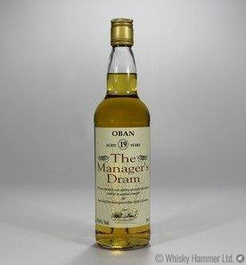 Oban - 19 Year Old - Manager's Dram