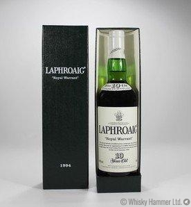 Laphroaig - 10 Year Old (Royal Warrant, 1994)