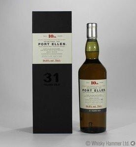 Port Ellen - 31 Year Old (1978) 10th Release