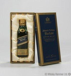 Johnnie Walker - Blue Label Miniature (5cl) Thumbnail