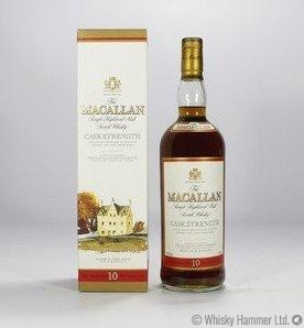 Macallan - 10 Year Old (Cask Strength, 1 Litre)