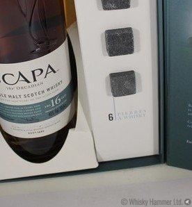 Scapa -16 Year Old (Gift set with whisky stones) Thumbnail