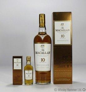 Macallan - 10 Year Old (Sherry Oak) + Mini Thumbnail