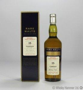Cardhu - 25 Year Old (Rare Malts 1973)