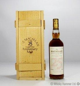 Macallan - 25 Year Old 1972 (Anniversary Malt)