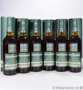 Glendronach - 15 Year Old (Revival) 6 Bottles