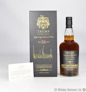 Glendronach - 26 Year Old (Trump International) Signed by Donald J. Trump