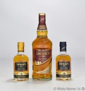 Dewar's - 18 Year Old & 2 x 20cl 12 Year Old Thumbnail