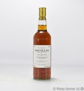 Macallan - 20 Year Old (The Syndicate's)