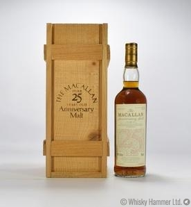 Macallan - 25 Year Old 1968 (Anniversary Malt)