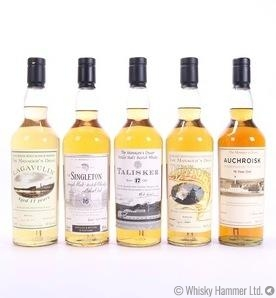 The Managers Dram Set - Lagavulin, The Singleton of Glen Ord, Talisker,  Dufftown, Auchroisk.