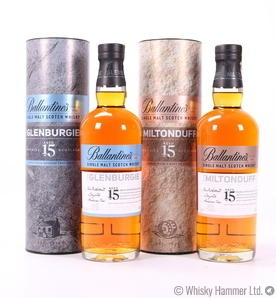 Ballantines - Miltonduff 15 Years & Glenburgie 15 Years