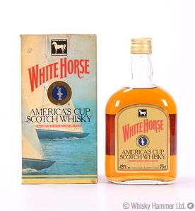 White Horse - America's Cup Scotch Whisky (Limited Edition)