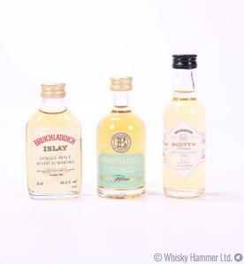 Bruichladdich - Set of 3 Miniatures