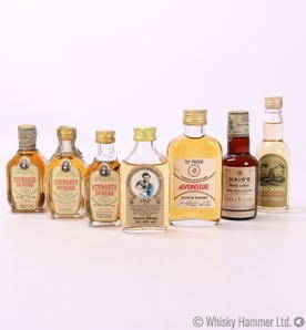 Miniature Set - Set of 7 Various Bottles