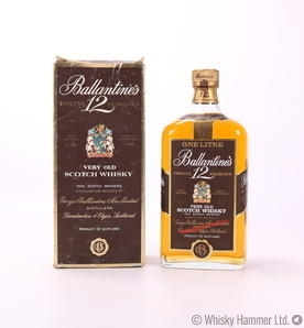 Ballantines - 12 Year Old 1L