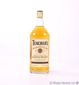 Teacher's Highland Cream 1L (1980s)