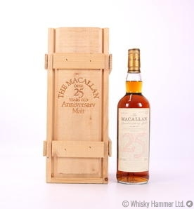 Macallan - 25 Year Old 1975 (Anniversary Malt)