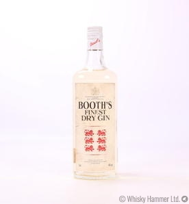 Booth's Gin 1980s