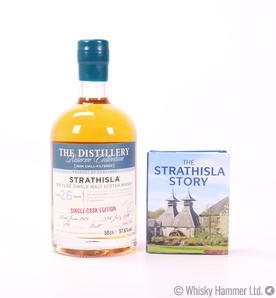 Strathisla - 26 Year Old (1989) + Book
