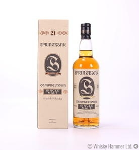 Springbank - 21 Year Old (1990s)
