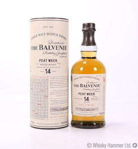 Balvenie - 14 Year Old (Peat Week 2002)
