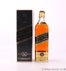 Johnnie Walker - 12 Year Old Black Label (1980s) Thumbnail