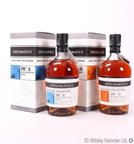 DIPLOMATICO BATCH KETTLE RUM N°1 and BARBET RUM N°2