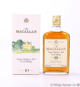 Macallan - 10 Year Old (1980s 37.5cl)