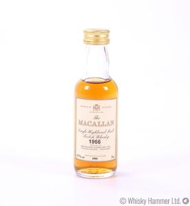 Macallan - 1966 Vintage Miniature