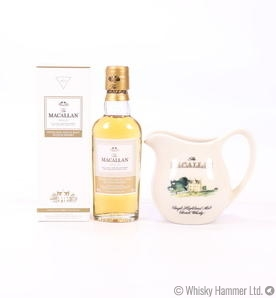 Macallan - Gold Miniature and Whisky Jug