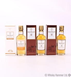 Macallan - 12 Year Old & Amber Miniatures (3 x 5cl)