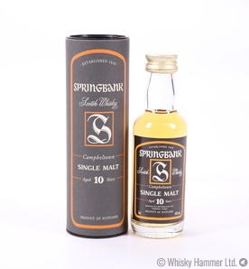 Springbank - 10 Year Old (Miniature)