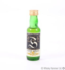 Springbank - 12 Year Old (Miniature)