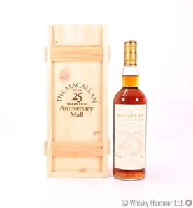 Macallan - 25 Year Old (1971 Anniversary Malt) Thumbnail