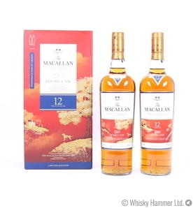 Macallan - 12 Year Old ('Year of the Dog' Double Cask) x 2 bottles Thumbnail