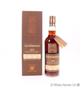 Glendronach - 41 Year Old (1972) Single Cask #702