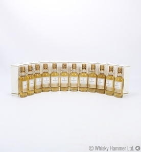 Macallan - Gold (1824 Series) 12 x 5cl Miniature