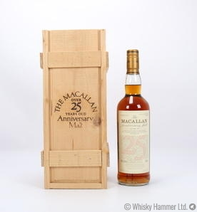 Macallan - 25 Year Old (1974) Anniversary Malt