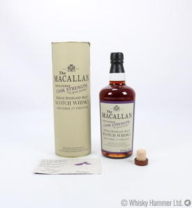 Macallan - Cask Strength (Oloroso Sherry) 500ml