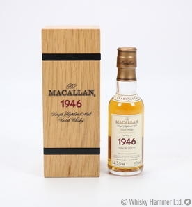 Macallan - 56 Year Old (1946) 5cl Miniature