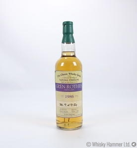 Glenrothes - 1986 (Classic Whisky Guild)