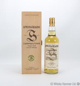 Springbank - 50 Year Old (Millennium Limited Edition)