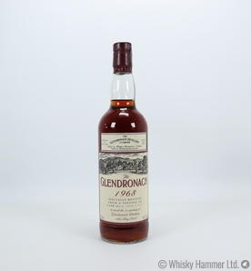 Glendronach - 1968 (34 Year Old,  Re-opening bottling)