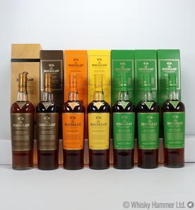 Macallan - Editions No. 1, 2, 3, 4 (7 x 70cl) + Paolo Pelegrín print